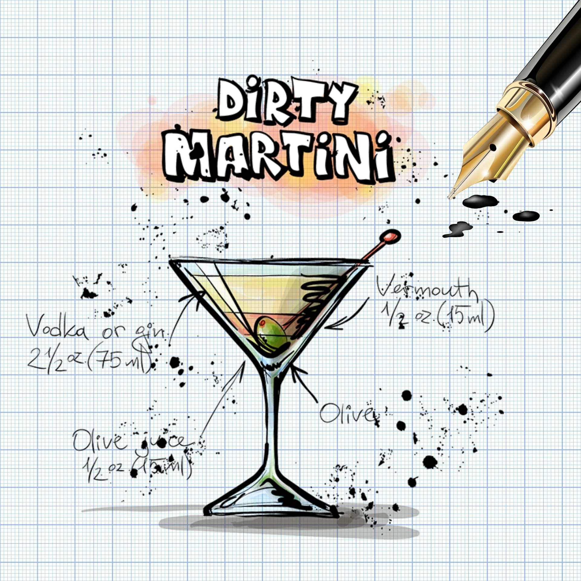 dirty-martini-847234_1920